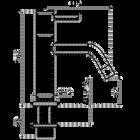 Kiruna fonteinkraan | Zwart