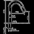 Kiruna / Tratto fonteinkraan | rvs-look